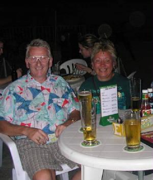 Steve and Trish at the China Bear
